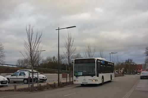 Mercedes Benz Citaro  -  Strasbourg, CTS