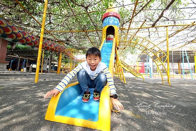 【高雄親子景點】路竹南巡代天宮兒童遊戲場14