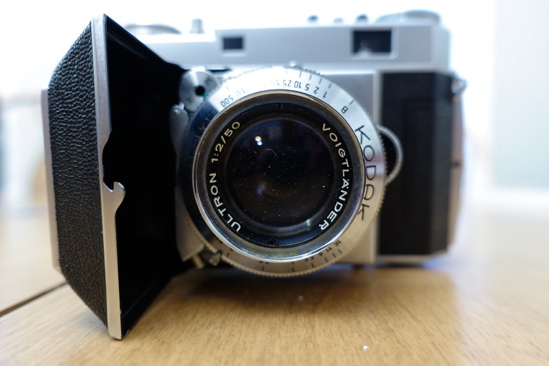 Shutter Doesn't Work Kodak Retina Reflex S With No Lens Leather ...