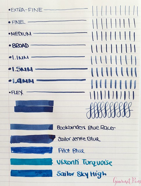 Ink Shot Review Bookbinders Blue Racer @AppelboomLaren 3