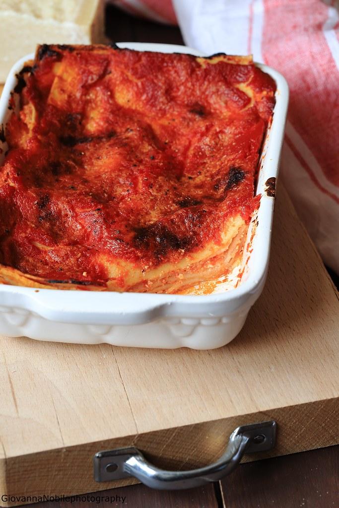Lasagne con ricotta e fiordilatte 3