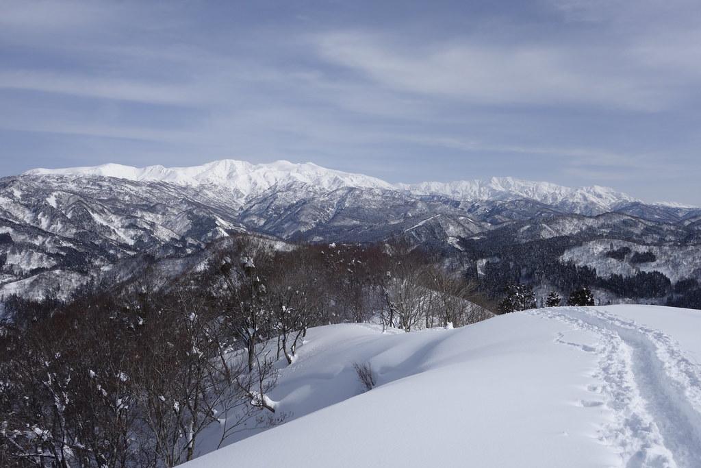 西山からの白山連峰 その1 RX100 M2編