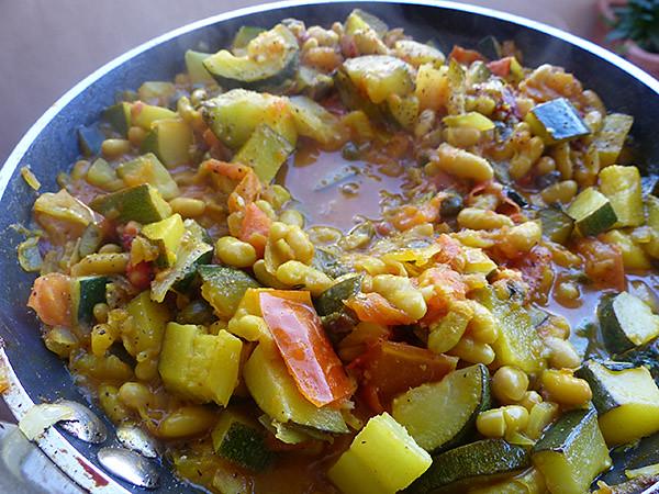 légumes au safran