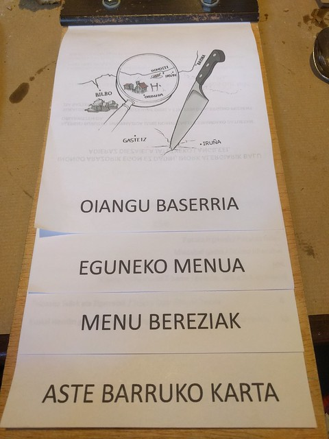 Oiangu Baserria:  Restaurante km 0 en Ordizia