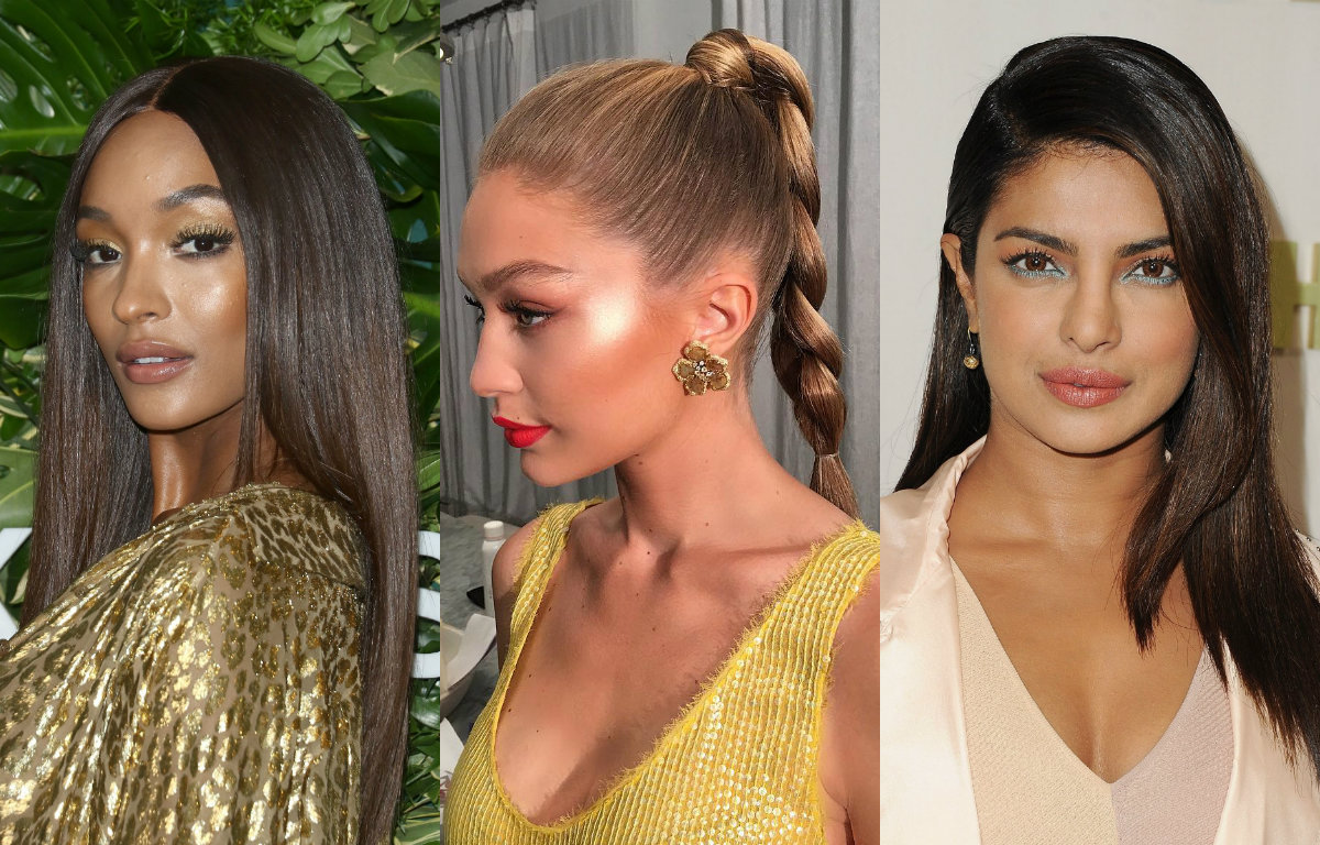 Winter Hair Trends - Celebrity Hairstyles Looks 1