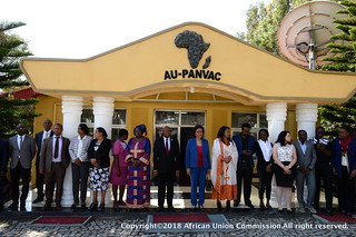 The Chairperson of the African Union Commission Inaugurates the Continental Veterinary Vaccine Bank.31/01/2018