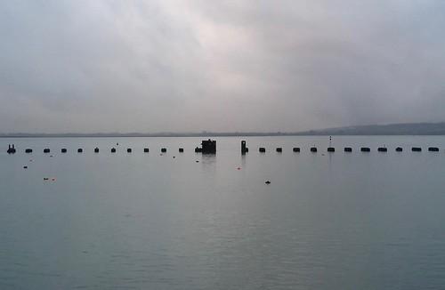 The old rail bridge, Hayling Island