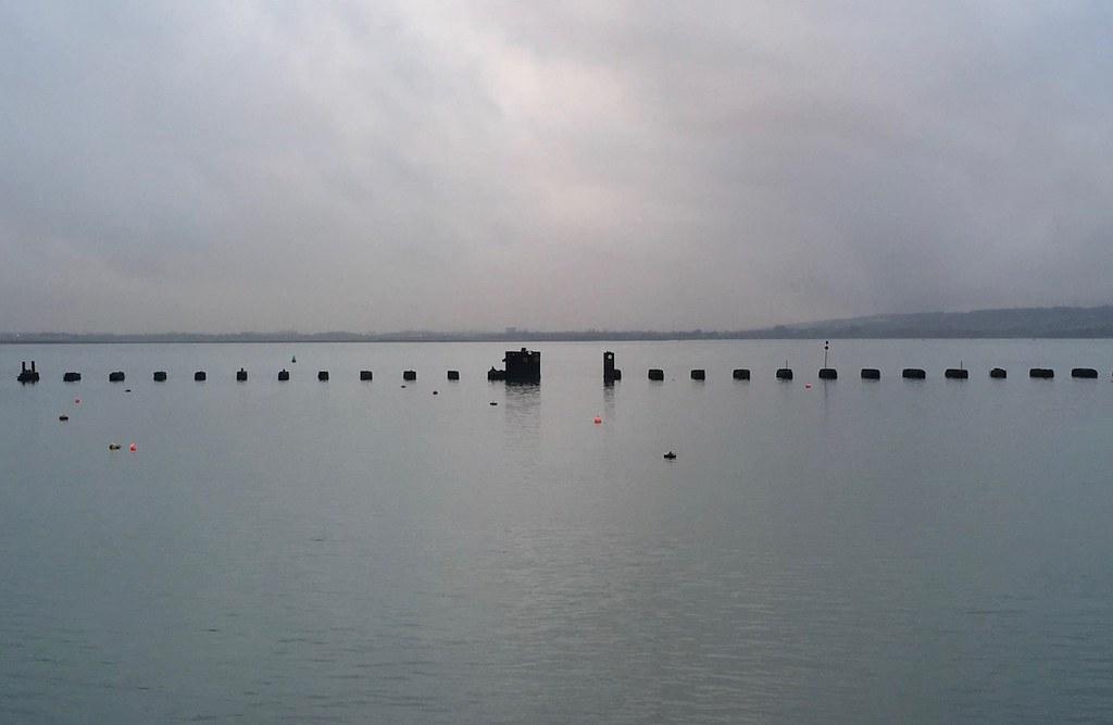 The old rail bridge, Hayling Island Portsmouth to Hayling Island walk