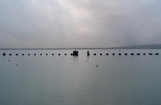 The old rail bridge, Hayling Island