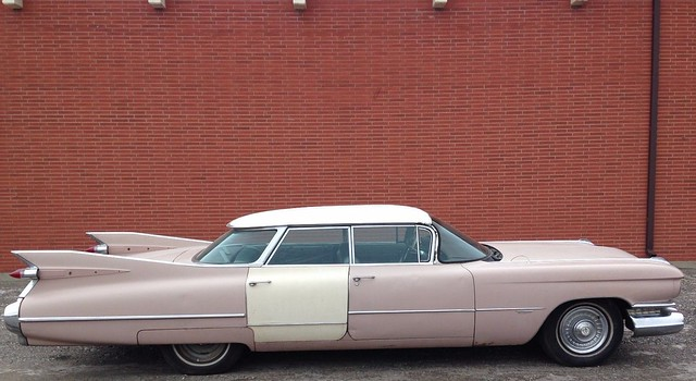 1959 Cadillac Series 62 Flat top Vista Roof