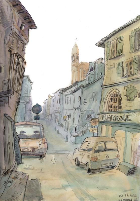 Rue Rodade Montferrandlight
