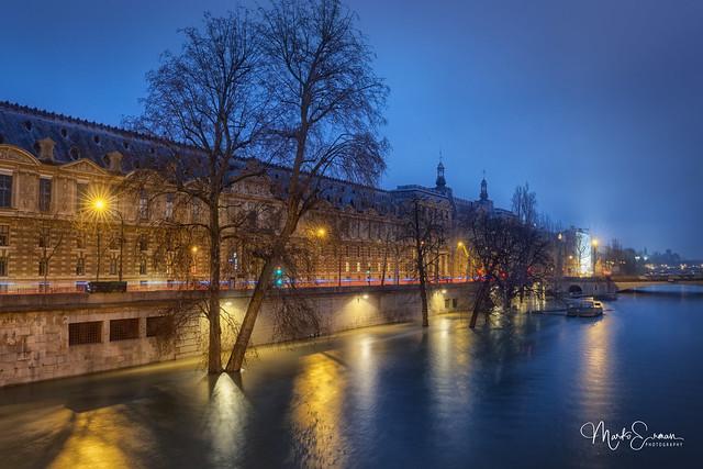 When the Seine overflows