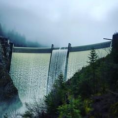 Barrage hydroelectrique du châtelot / hydroelectric dam of châtelot / France / Doubs