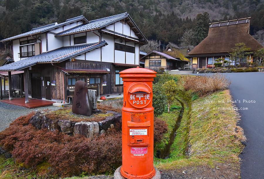 日本京都 美山 茅草屋 交通 巴士16