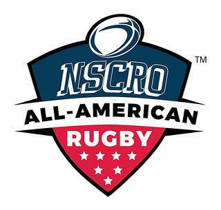 NSCRO All-American Rugby logo