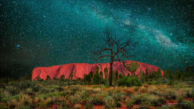 Milky Way over Uluru / Ayers Rock