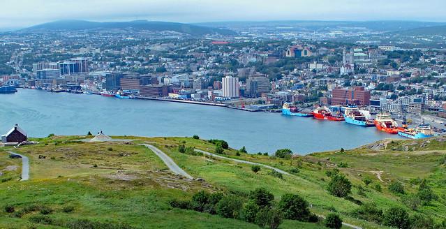 Newfoundland, St John's Harbour, Canada