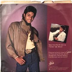 MICHAEL JACKSON:WANNA BE STARTIN' SOMETHIN'(JACKET B)