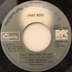 JIMMY ROSS:FIRST TRUE LOVE AFFAIR(LABEL SIDE-A)