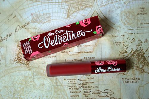 Limecrime - Velvetines in Red Velvet