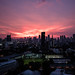 Sunset - Bangkok Skyline