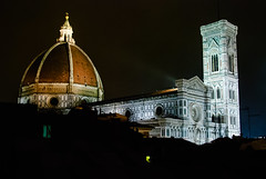 Santa Maria del Fiore at night