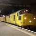 97301 at Manchester Airport with a test train from Derby RTC to Neville Hill on 12th February 2018