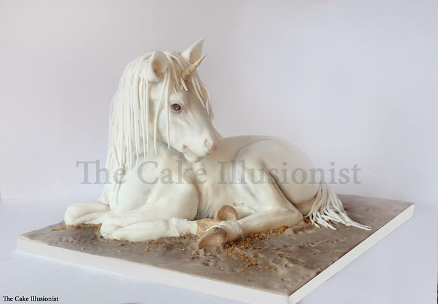Unicorn Cake by The Cake Illusionist