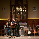 Tue, 20/02/2018 - 12:18pm - The trio of Sara Watkins, Sarah Jarosz and Aoife O'Donovan play for WFUV listeners at the Fordham University Church in NYC, 2/20/18. Hosted by John Platt. Photo by Gus Philippas/WFUV