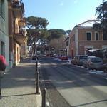 moonterotondo dopo la nevicata -- provincia di roma