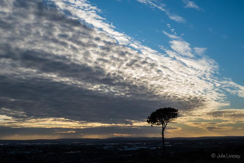 Cloudbank over Poole