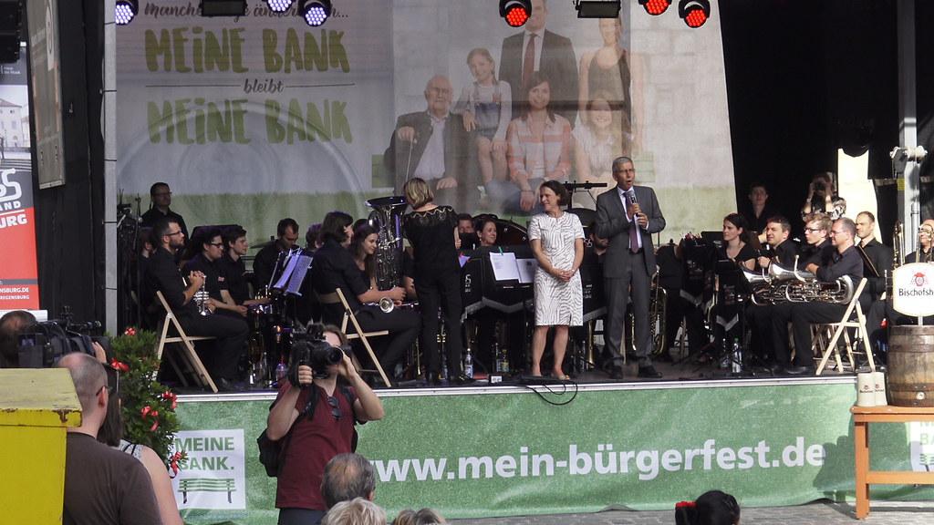 Eröffnung Bürgerfest Regensburg - 23.06.2017