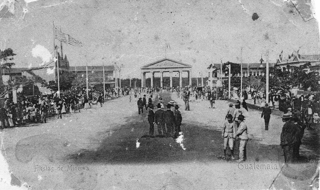Templo de Minerva en 1907