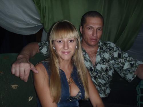 Игорь Шпортюк (Шкрок) с дочерью Виолеттой
