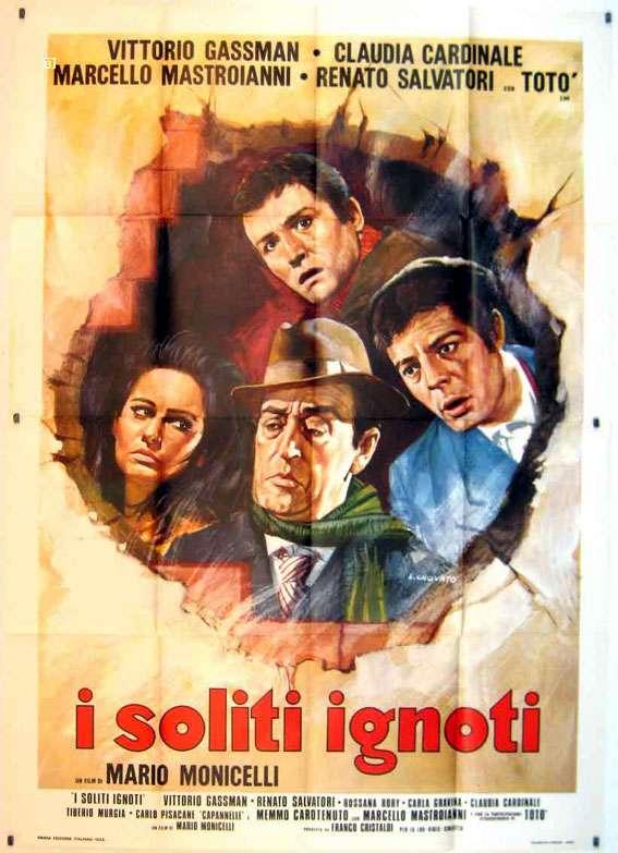 I Soliti Ignoti - Poster 3