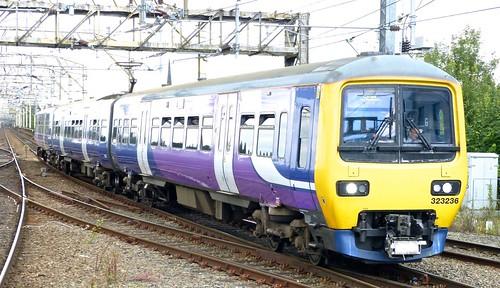 Class 323 'Northern Rail' No. 323236. Hunslet Transportation EMU on Dennis Basford's railsroadsrunways.blogspot.co.uk'