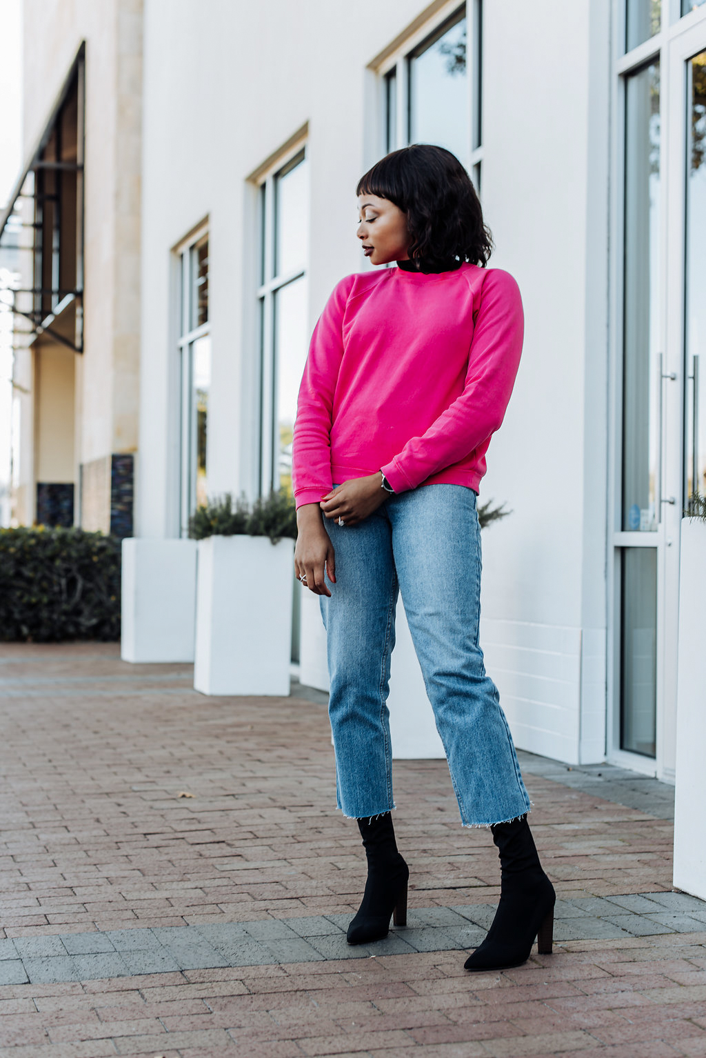 how to wear crop length jeans, Dallas fashion blogger