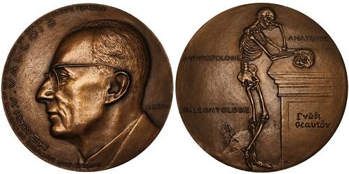 Henri-Victor Vallois bronze Medal