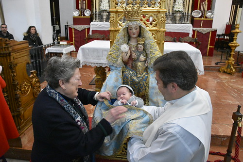 Presentación de los niños a la Virgen de Valme