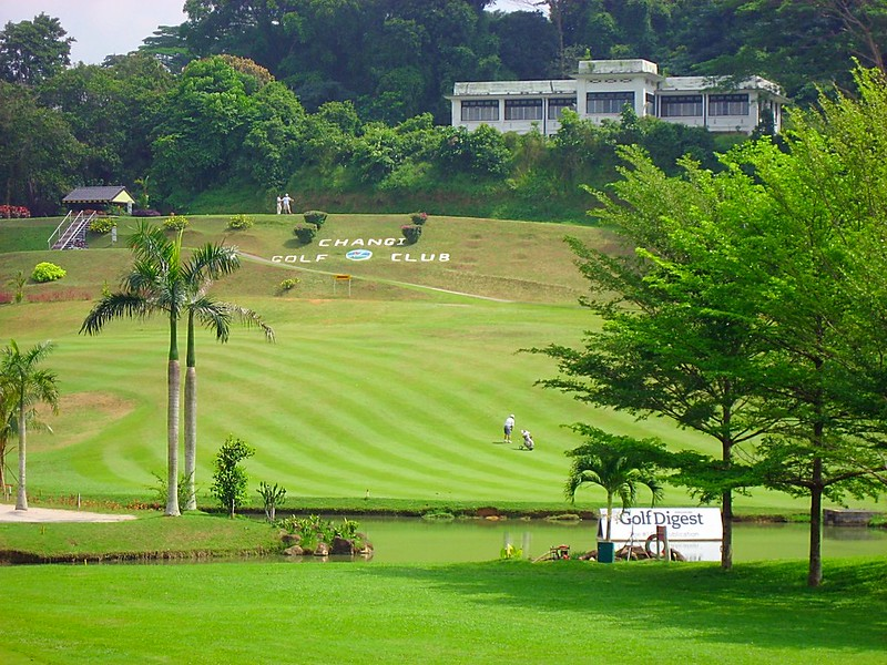 Nice course Changi Golf club Singapore
