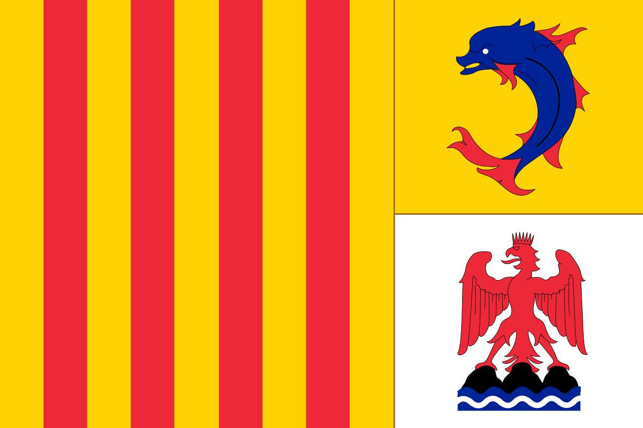 Flag of Provence-Alpes-Côte d'Azur