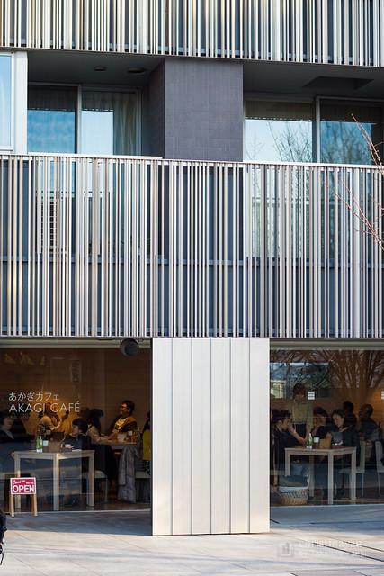 Cafe Akagi (赤城神社、パークコート神楽坂)