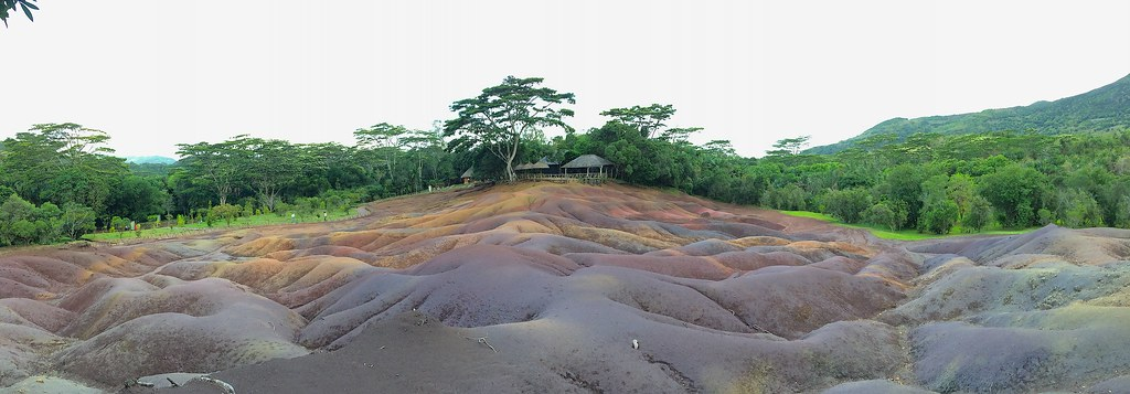 Terres de 7 couleurs panorama
