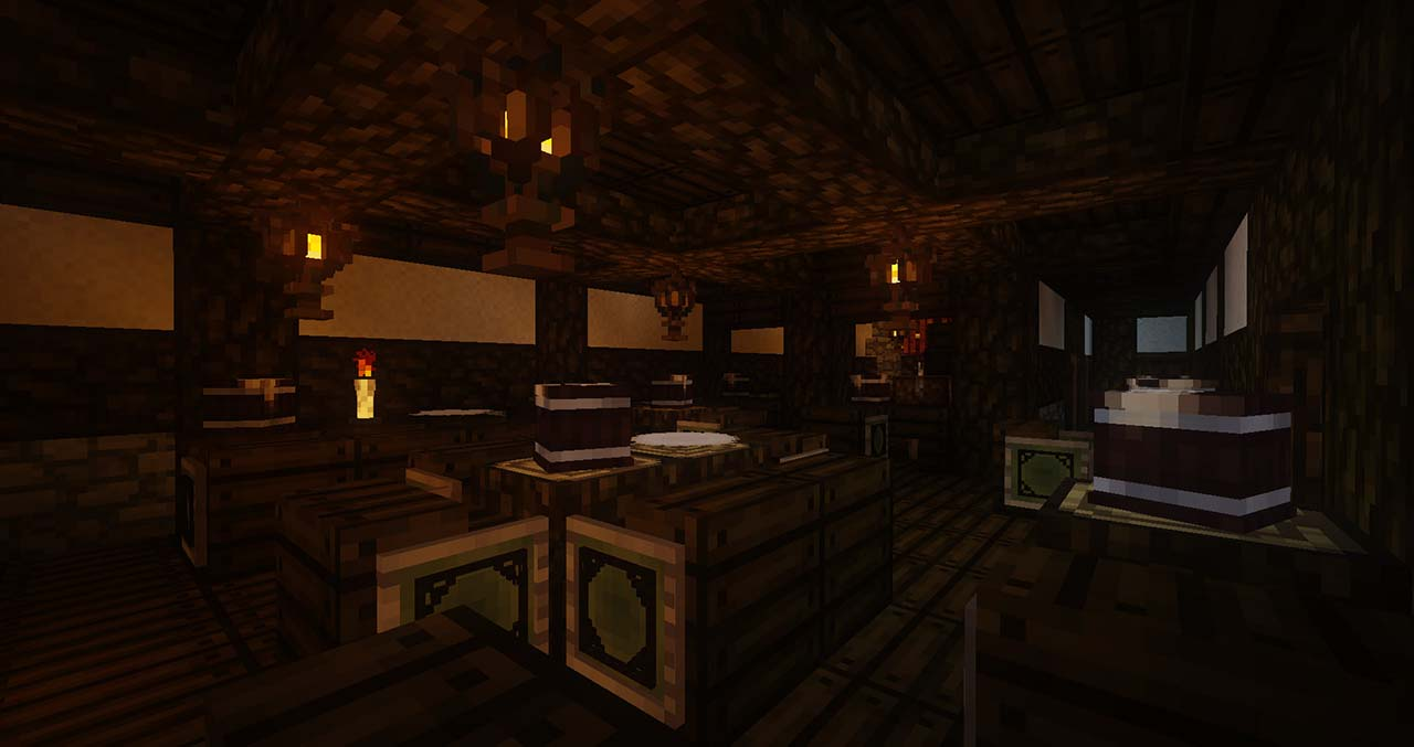 Minecraft Middle Earth By @mcmiddleearth: The Prancing Pony - The Inn Hobbits Met With Aragorn And Gandalf Met Thorin