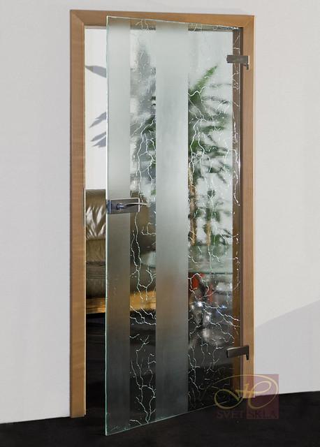 marmor skleněné dveře
