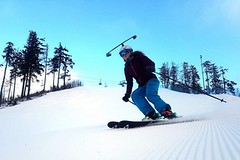 SNOW tour 2017/18: Plešivec – přehledné sjezdovky pro malé i velké