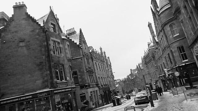 Snowy Edinburgh 09