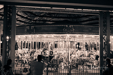 Canberra New Years Eve carousel