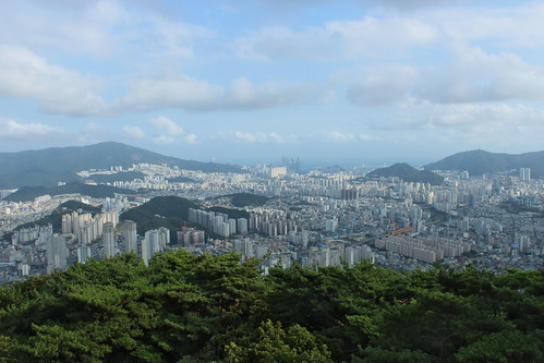 View over Busan from the Geumgang Park | by Timon91