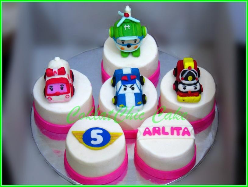 Minicake set Robocar Poli ARLITA